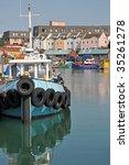 Boat Docked In Portsmouth  Ne...