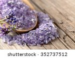 Bath Salt With Fresh Lavender...