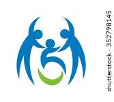 disable logo vector. | Shutterstock .eps vector #352798145