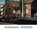 sherringham train station on... | Shutterstock . vector #35283232