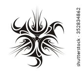 tattoo sun | Shutterstock .eps vector #352834862
