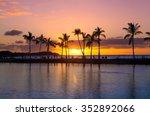 Beautiful Sunset On Hawaiian...
