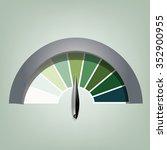 vector  efficiency speed... | Shutterstock .eps vector #352900955