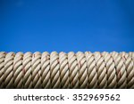 rope background in industry ... | Shutterstock . vector #352969562