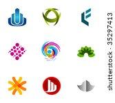 design elements or logotype...   Shutterstock .eps vector #35297413