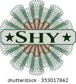 shy money style rosette | Shutterstock .eps vector #353017862