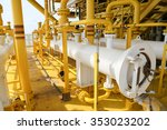 pig luncher in oil and gas... | Shutterstock . vector #353023202