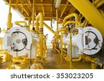 pig luncher in oil and gas... | Shutterstock . vector #353023205