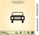 car icon | Shutterstock .eps vector #353066525