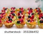 cake  candies  marshmallows ... | Shutterstock . vector #353286452