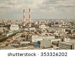 view on combined heat and power ... | Shutterstock . vector #353326202