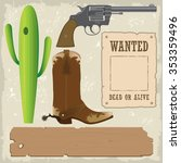 Wild West Design Elements