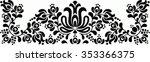 hungarian folk art | Shutterstock .eps vector #353366375