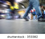 rush hour in the mainstation | Shutterstock . vector #353382