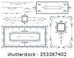 advertisements  flyer  web ... | Shutterstock .eps vector #353387402