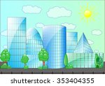 the vector illustration of the... | Shutterstock .eps vector #353404355