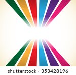 abstract colorful stripes ... | Shutterstock .eps vector #353428196
