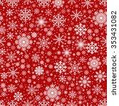 seamless winter vector abstract ... | Shutterstock .eps vector #353431082