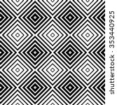 abstract monochrome pattern... | Shutterstock .eps vector #353440925