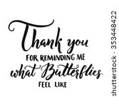 thank you for reminding me what ... | Shutterstock .eps vector #353448422
