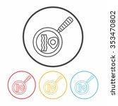pot line icon | Shutterstock .eps vector #353470802