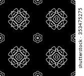 abstract seamless pattern ... | Shutterstock .eps vector #353475275