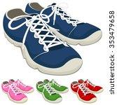 vector illustration of a pair...   Shutterstock .eps vector #353479658