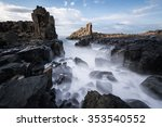 Bombo Headland Waterfall  In...