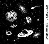 vector colorless illustration...   Shutterstock .eps vector #353598335