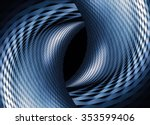 closeup of two curvilinear... | Shutterstock . vector #353599406