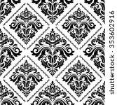 oriental vector classic... | Shutterstock .eps vector #353602916