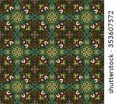 vector abstract seamless... | Shutterstock .eps vector #353607572