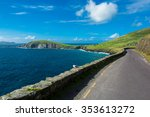 single track coast road at slea ... | Shutterstock . vector #353613272