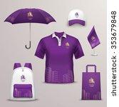 promotional souvenirs design... | Shutterstock .eps vector #353679848