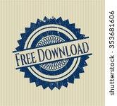 free download grunge seal