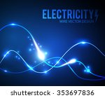 abstract futuristic background. ...   Shutterstock .eps vector #353697836