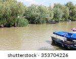 boats on the river danube....   Shutterstock . vector #353704226