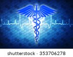 3d medical logo | Shutterstock . vector #353706278