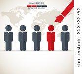 business management  strategy... | Shutterstock .eps vector #353732792