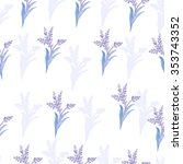 seamless pattern with... | Shutterstock .eps vector #353743352
