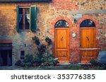 Old Brick Italian Facade...