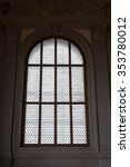 detail of a window with pattern ... | Shutterstock . vector #353780012