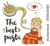 Hipster Pasta Doodles...