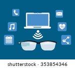 wearable technology design ...   Shutterstock .eps vector #353854346