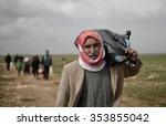 sanliurfa turkey  18 february...   Shutterstock . vector #353855042