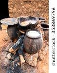 millet beer tanks | Shutterstock . vector #353869796