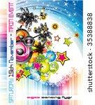disco dance tropical music... | Shutterstock . vector #35388838