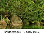 babinda boulders  babinda ... | Shutterstock . vector #353891012