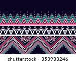 geometric seamless pattern... | Shutterstock .eps vector #353933246