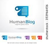 human website logo template... | Shutterstock .eps vector #353966456